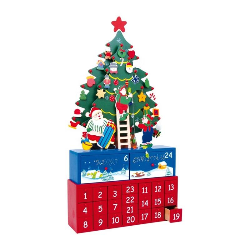 adventskalender tannenbaum zum selberf llen. Black Bedroom Furniture Sets. Home Design Ideas