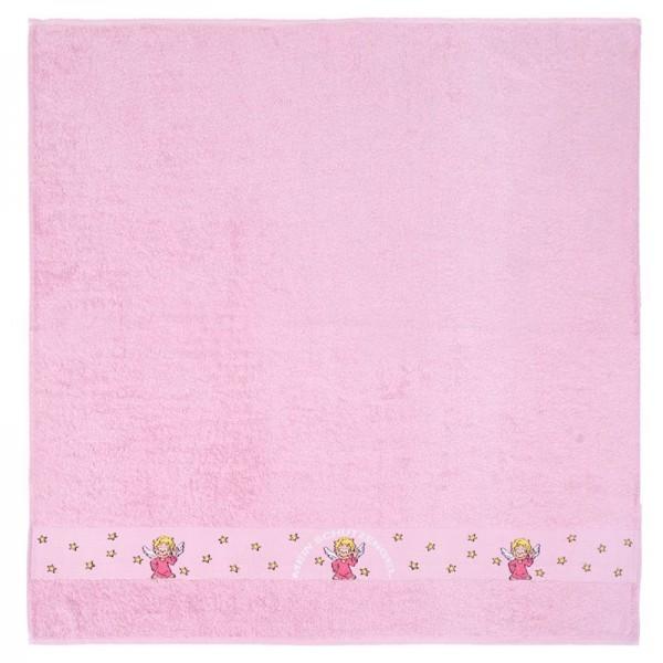 SchutzEngel Badetuch 100x100cm, rosa