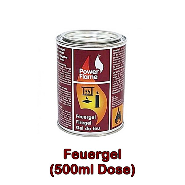 Gel de feu boite 500 ml de PowerFlame