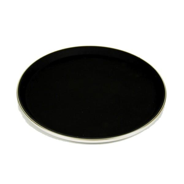 Serviertablett, Antirutsch rund, 35.5cm