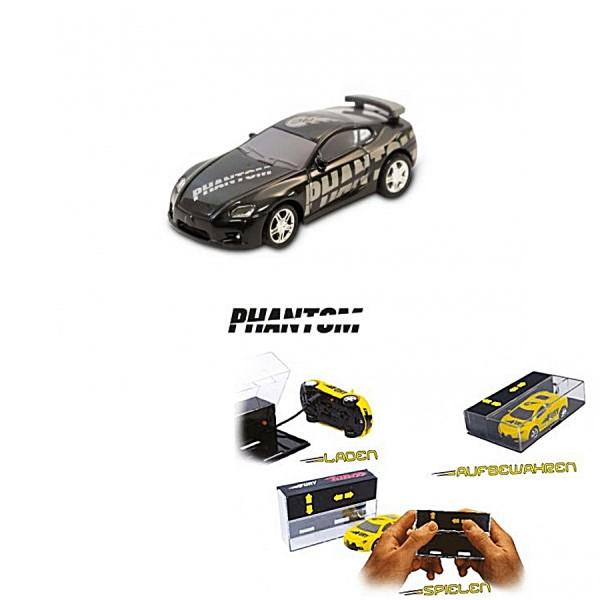 Pocket Racer PHANTOM RC Auto Schwarz