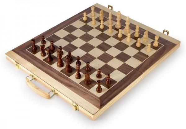 Schach und Backgammon Koffer, small foot
