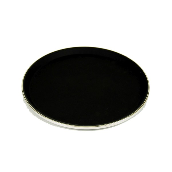 Serviertablett, Antirutsch rund, 27cm