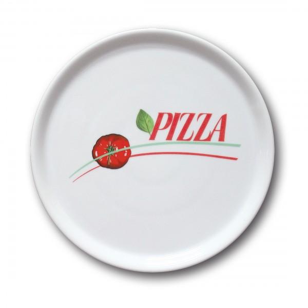 Pizzateller 31cm mit Schriftzug Pizza