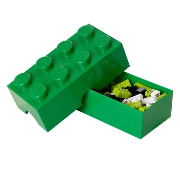 XL Lego Lunchbox oder auch Etui, Grün