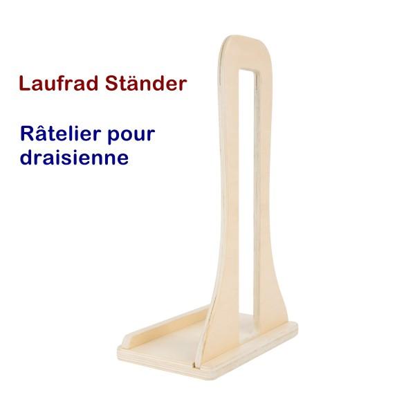 Laufrad Ständer aus Holz von small foot