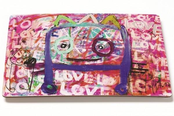 PAVA love love love, Tischset