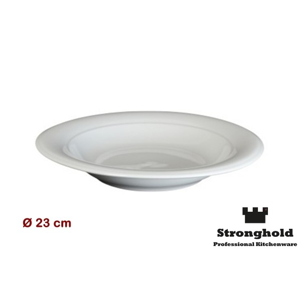 Runde Gastro- Teller 23cm, Porzellan