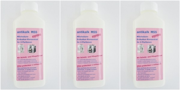 Reinigen, antikalk M55 3Stk. entkalker