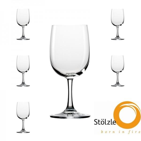 Glas, CLL, 6x Mineralwassergläser, 320
