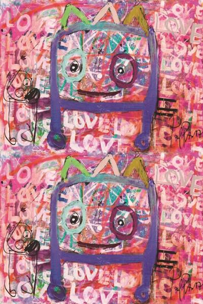 PAVA love love love Tischtuch