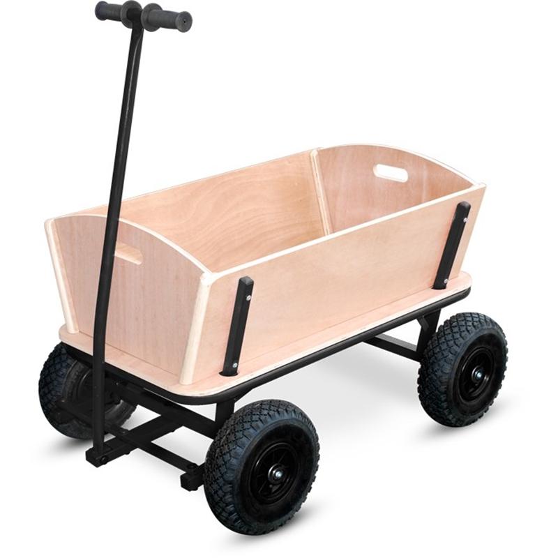 bollerwagen leiterwagen xxl robuste ausf hrung schwarz. Black Bedroom Furniture Sets. Home Design Ideas