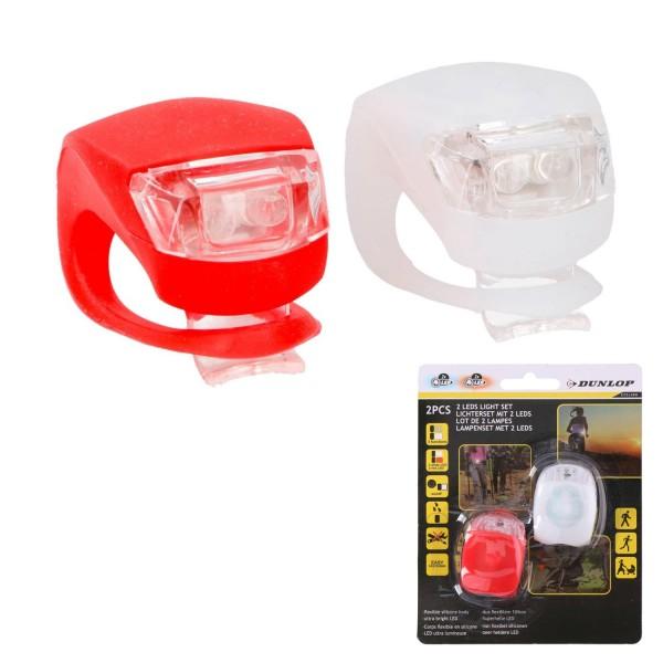 LED Scooter- Fahrrad- Velo-Licht 2er Set