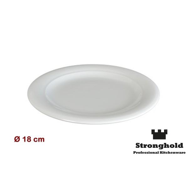 Runde Gastro- Teller 18cm, Porzellan