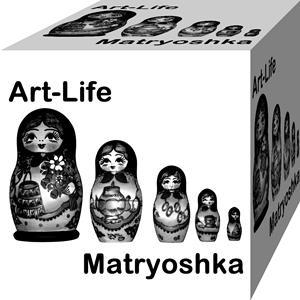 Matryoshka Art-Life