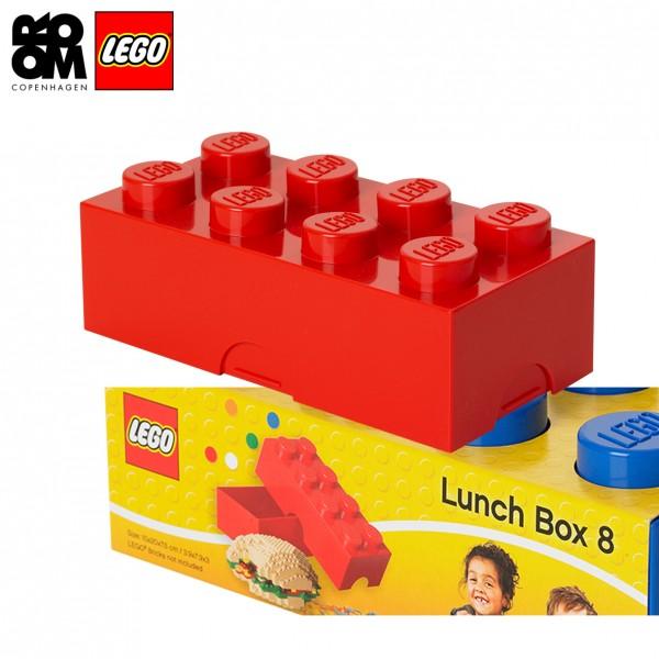 XL Lego Boîte à tartine ou gouter, Rouge