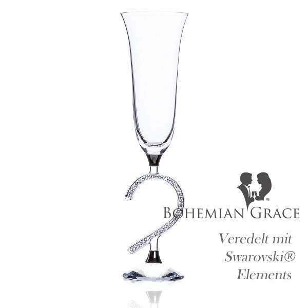 Sektglas VENUS Heart von Bohemian Grace