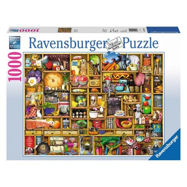 Ravensburger Puzzle, kitchen cupboard