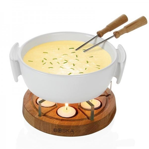 Fondueset Candle Light 1.0L,Boska