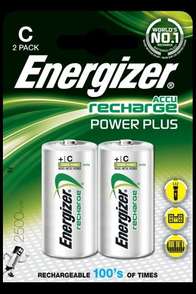 Energizer pile rechargeable C,2500, 2pc