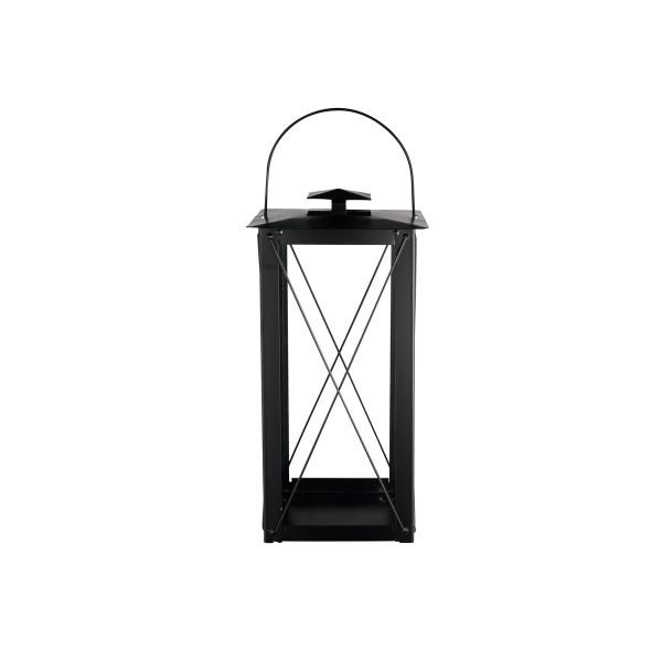Laterne S, 15x30cm, slim Design Black