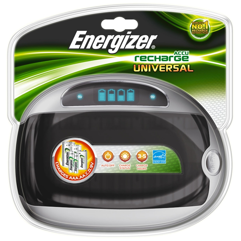 Universal Charger, Universal Ladegerät für Akkus, ENERGIZER Universal Ladegerät für Akkus