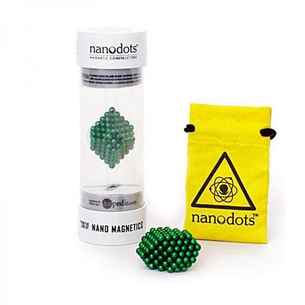 Nano dots vert, 216 boules magnétiques