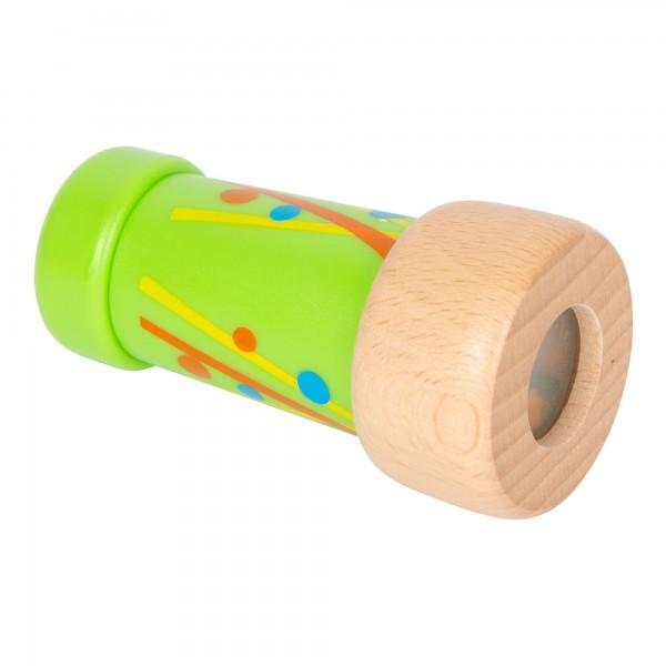 Mini Kaléidoscope vert en bois