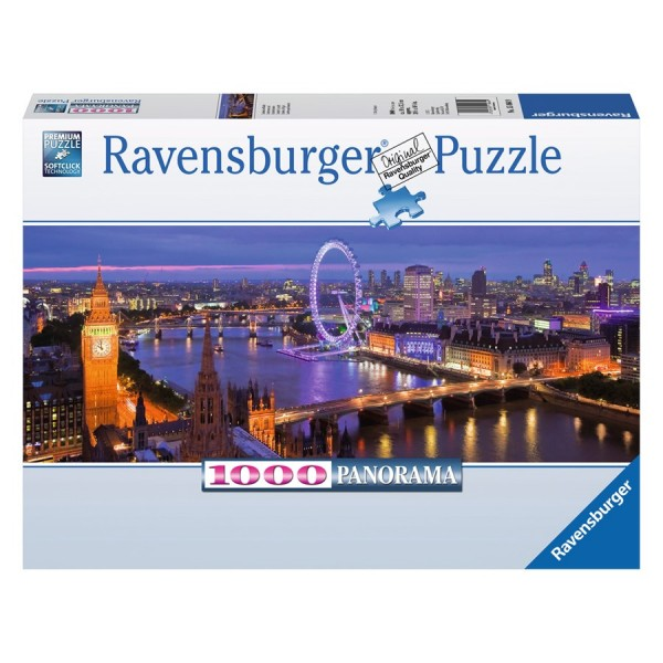 Ravensburger Puzzle, London by night