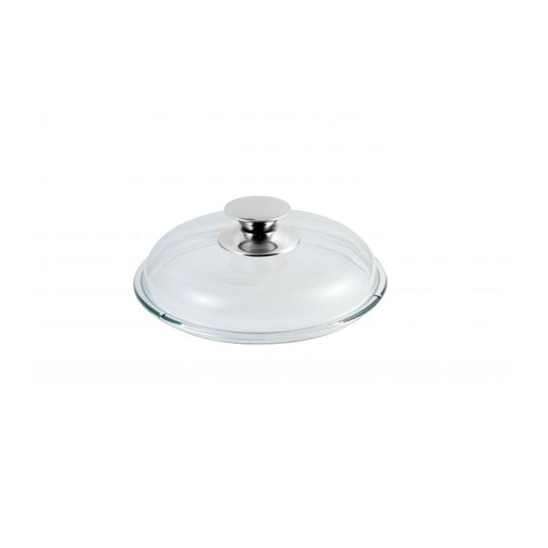 Glasdeckel, Universaldeckel für Pfannen und Töpfe d 20cm, Universal Deckel für Pfannen mit d 20cm
