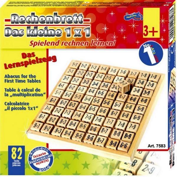 Multipliziertabelle, Mathematikbrett 1x1