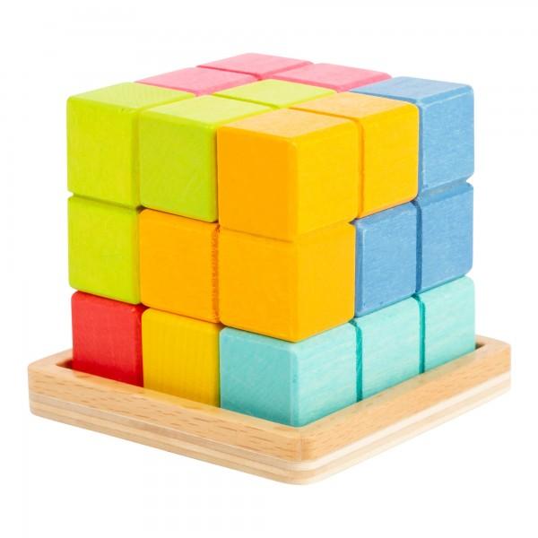 3D Tetris- Puzzle Würfel - Knobelspiel