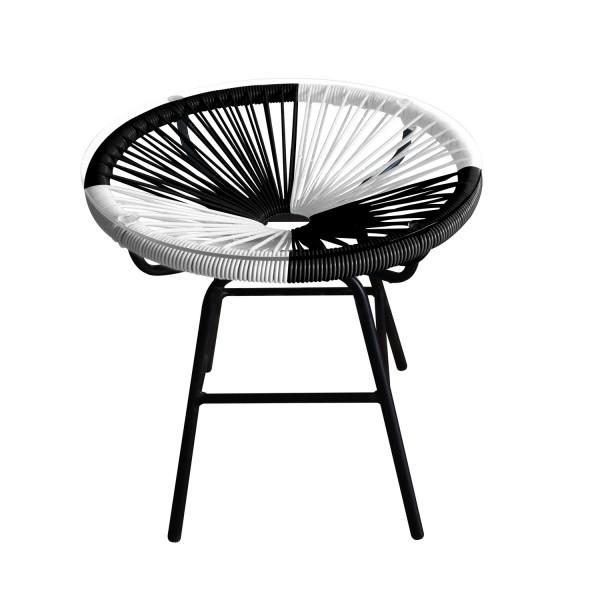 Bistrotisch rund mit Glasplatte - SW