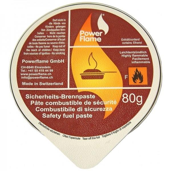pâte combustible de sécurité 80gr 1pc