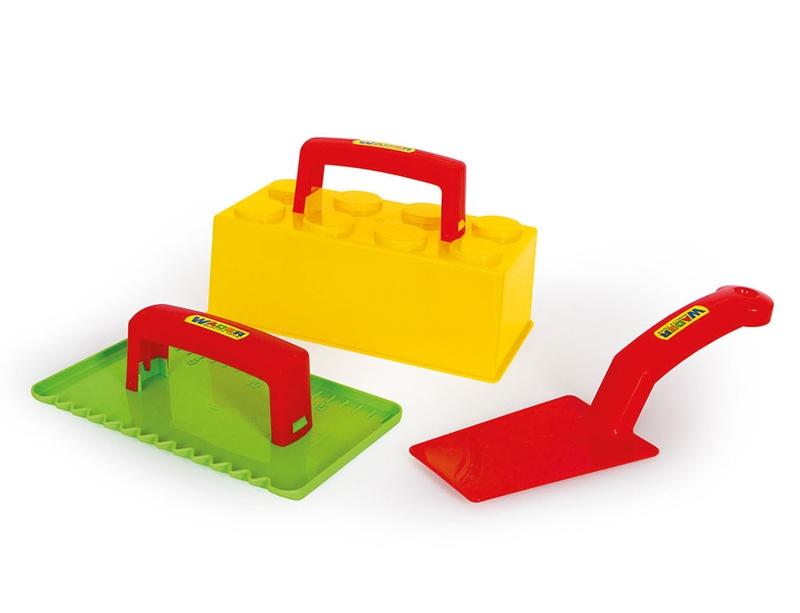 sandkastenspielzeug sandspielzeug maurer set. Black Bedroom Furniture Sets. Home Design Ideas