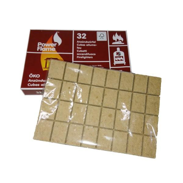 Cubes allume-feu écologique 32 pc
