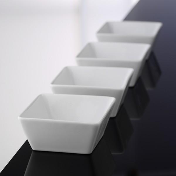 vaisselle AROMA-SqWh bol (saladier) 4pc