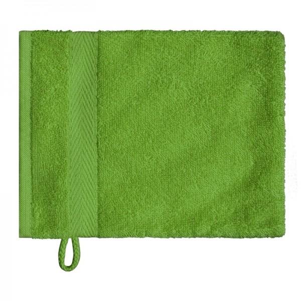 OPAL vert clair gant de toilette 16x21cm