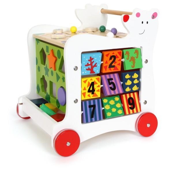 Lauflernwagen Bär, Kleinkinder Laufgerät