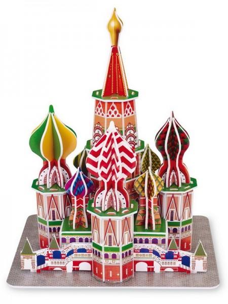 3D-Puzzle Cathédrale St Basile Moscou