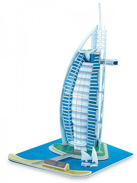 3D-Puzzle Burj Al Arab Dubai
